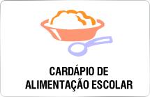 Cardápio da Alimentação Escolar